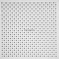 Aoustic perforated plasterboard/cross