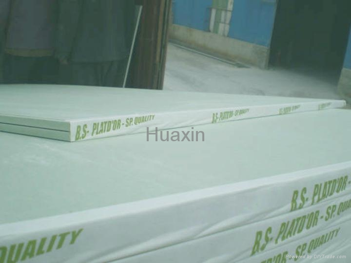 Moistureproof gypsum boards