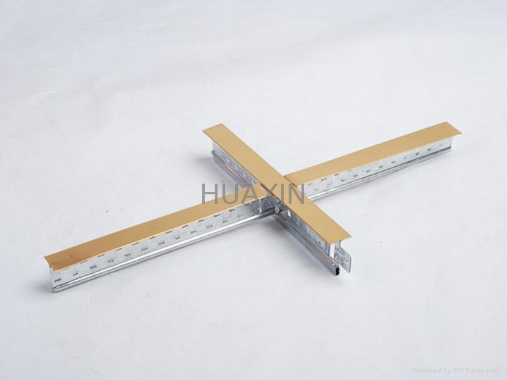 Exposed ceiling t bar-flat surface 8