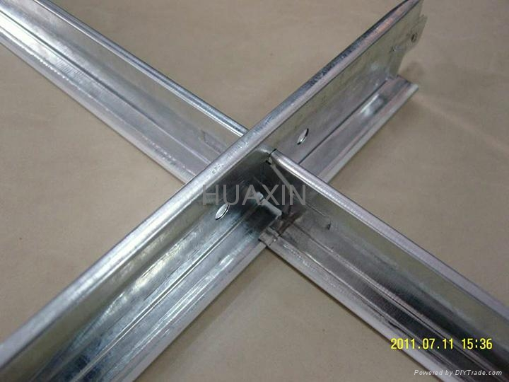 Exposed ceiling t bar-flat surface 3