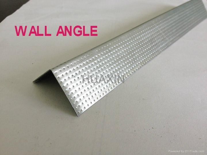 Wall angles