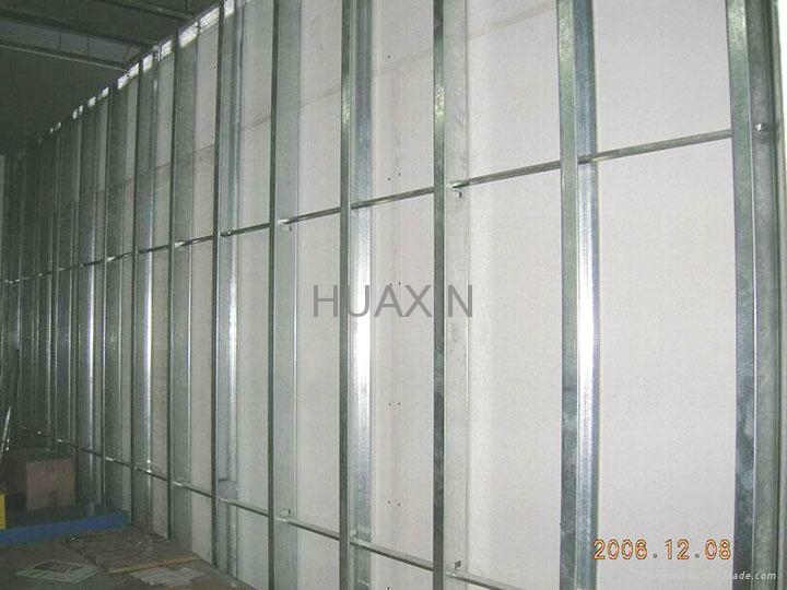 Studs, tracks, channels, angles for wall partition and ceiling suspension 9