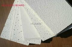 Mineral fiber acoustic boards