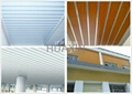 Aluminum linear ceiling strip