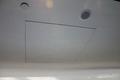 White painted aluminum access panels  7