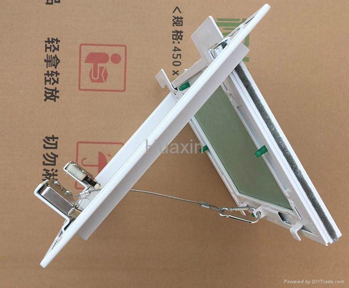 White painted aluminum access panels  6