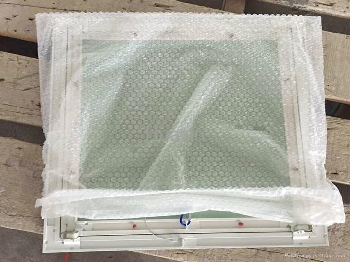 White painted aluminum access panels  13