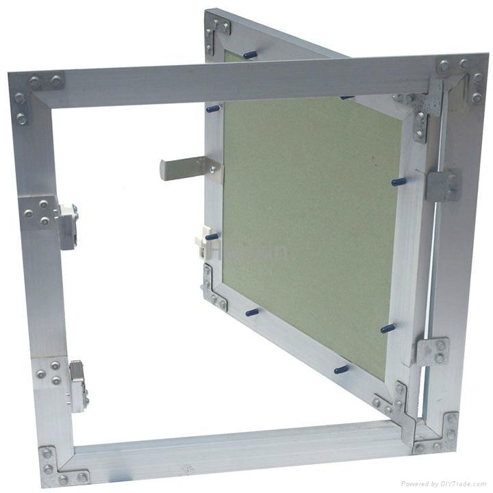 White painted aluminum access panels  14