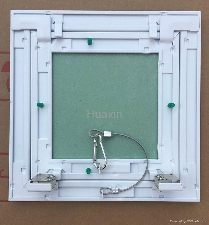 White painted aluminum access panels  4