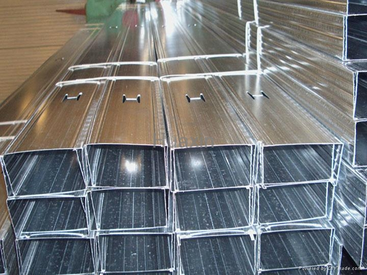 Metal studs, tracks, angles, channels for drywall partition 3