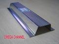 Galvanized steel profiels for gypsum