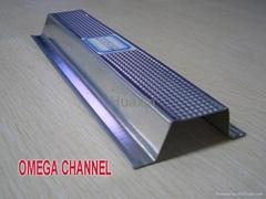 Galvanized steel profiels for gypsum board