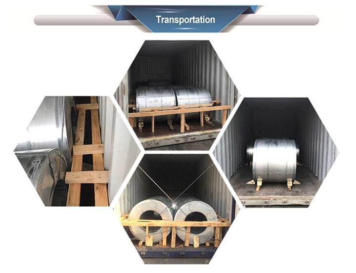Prepainted galvanized steel in coil supplier 13