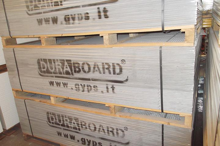 Fiber cement boards for distribution and retails