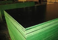 Black film green edge