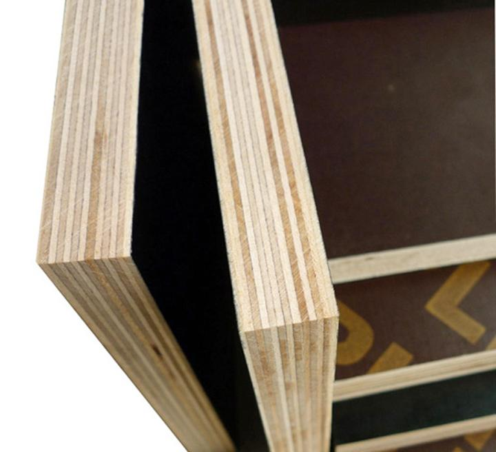 Black/brown film construction plywood 3