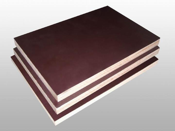 Black/brown film construction plywood
