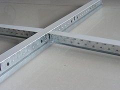 Best quality exposed T bar suspended ceiling grids price