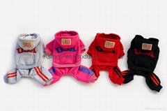 USA four-legs tracksuit dog clothing