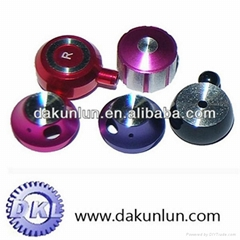Colorful parts for earphone and headphone