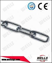 long link steel chain