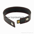 bracelet wristband USB flash drives with OEM logo print 5