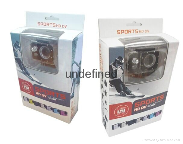 Waterproof wifi remote control SJ40000 action Sport camera 2