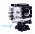 wifi gopro sports camera 60M waterproof