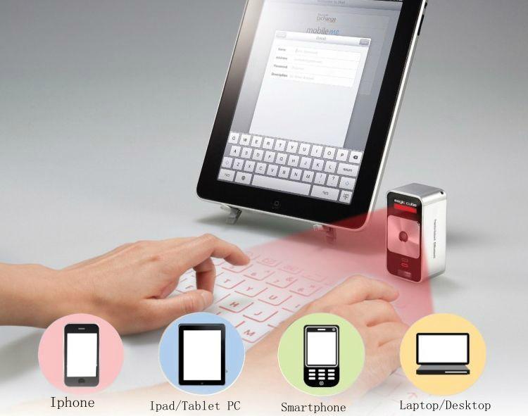 2015年最新产品蓝牙迷你激光投影键盘 5
