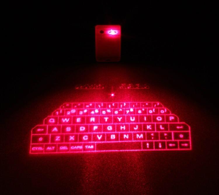 2015年最新产品蓝牙迷你激光投影键盘 1