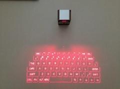 鼠標功能  迷你藍牙多功能激光鍵盤