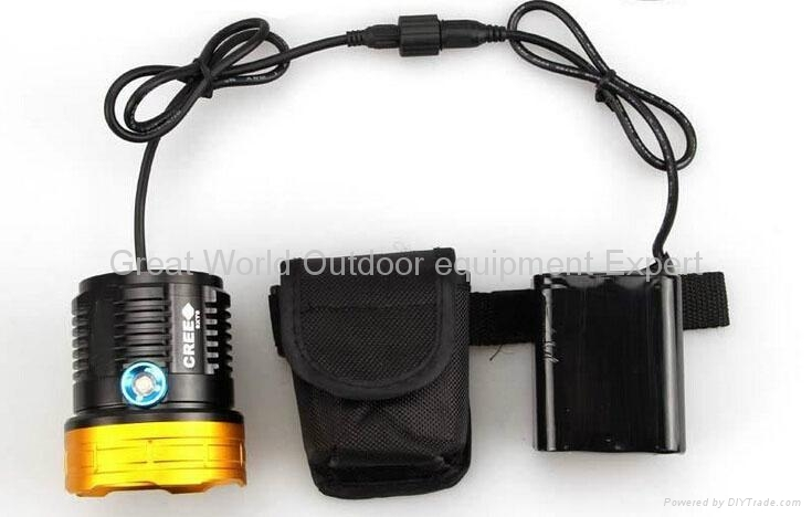 GW-BL09 Waterproof 9xT6 13800 LM Bicycle LED Light 1