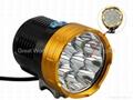 GW-BL09 Waterproof 9xT6 13800 LM Bicycle LED Light 4