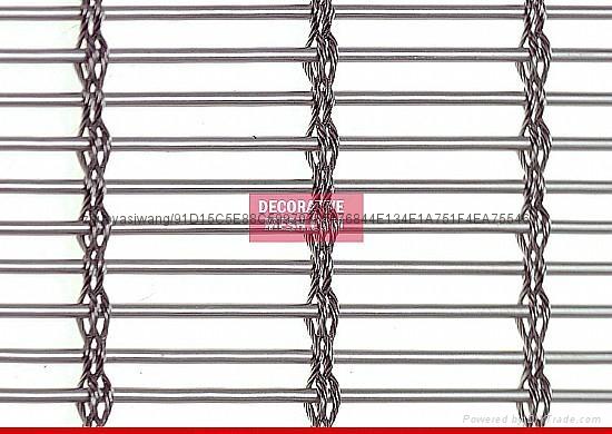 幕牆五金產品--不鏽鋼絲網 2