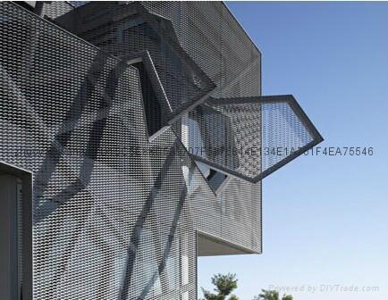 幕牆五金產品--不鏽鋼絲網 5