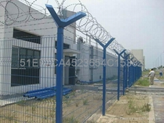 Highway guardrail net