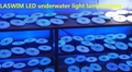 Flat LED swimming pool underwater light 4