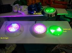 Resin enclosed LED pool