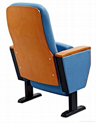 wooden auditorium chair conference seat theater seating