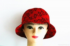 2014 Popular Red NY Letter Knitted Hat