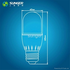 T45 LED柱形球泡燈CE認証