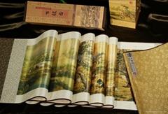 《百駿圖》絲綢珍品畫