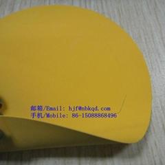 0.4mm黃色阻燃橡膠防化服面料