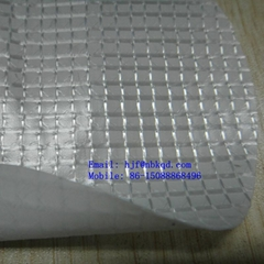 One Face White PVDF Coated Weather Resistant Clear PVC Mesh Fabric for Tent