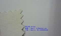 0.55mm White Soft Rubberized Cotton Fabric for Clothing