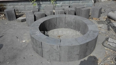 Graphite furnace lining