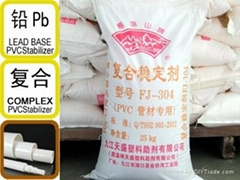 Compound stabilizer for pvc extrusion tubes