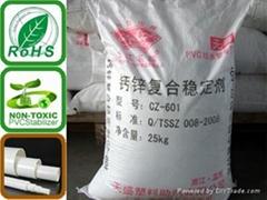 Calcium-zinc compound stabilizer