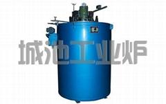 Pit vacuum annealing furnace