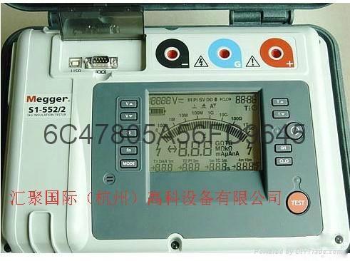 美國進口Megger  S1-552/2絕緣電阻測試儀  5